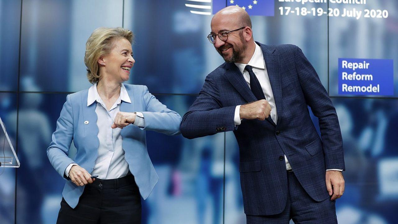 Le plan de relance européen adopté sous l'égide d'Ursula von der Leyen, présidente de la Commission européenne, et Charles Michel, président du Conseil européen, va faire de l'Union européenne l'un des plus gros émetteurs de la zone euro.