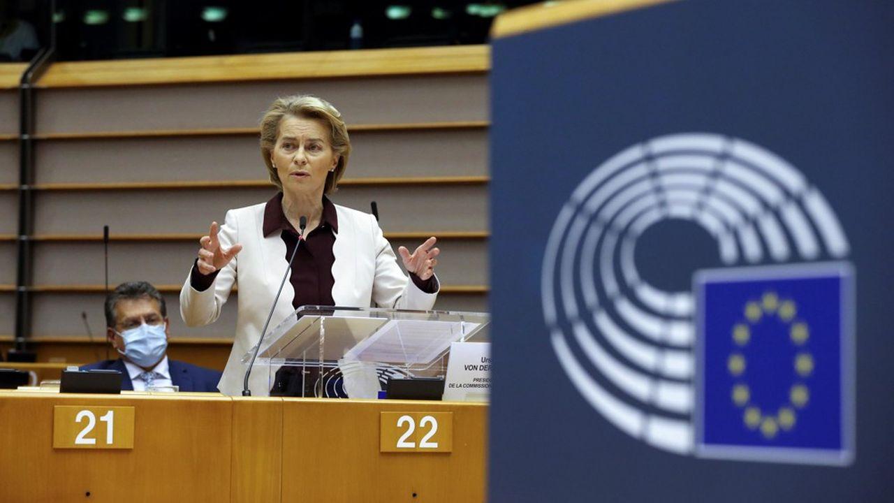 La présidente de la Commission européenne, Ursula von der Leyen, a souligné, jeudi à Bruxelles devant le Parlement européen, ses propres regrets face à la faiblesse du budget européen prévu pour la période 2021-2027.