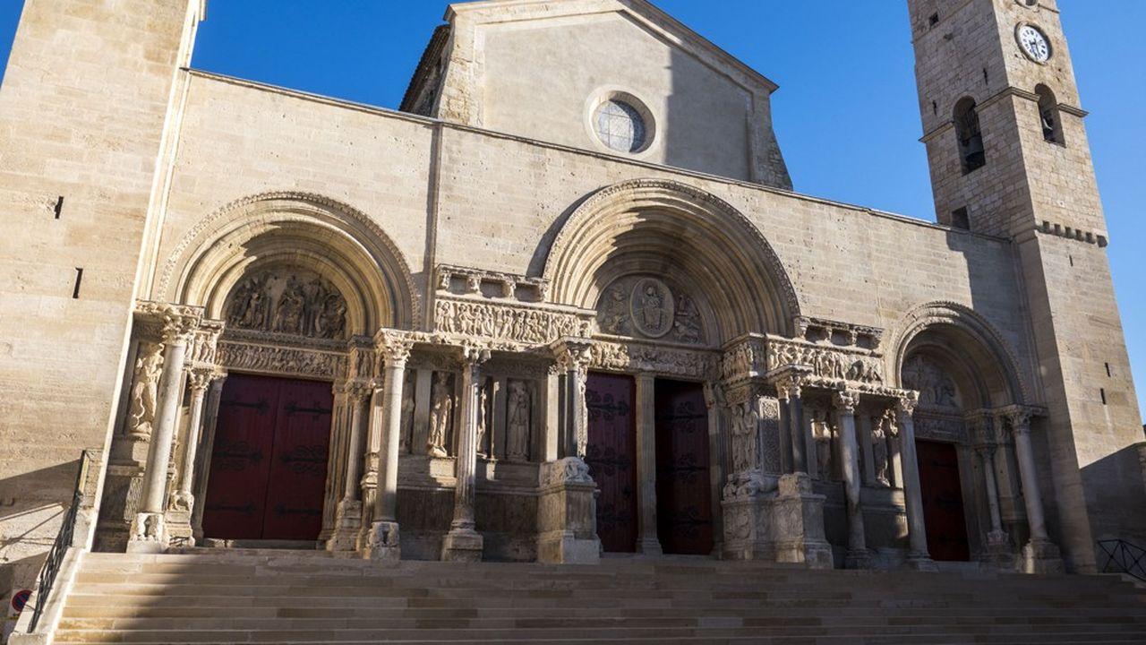 L'abbatiale de Saint Gilles