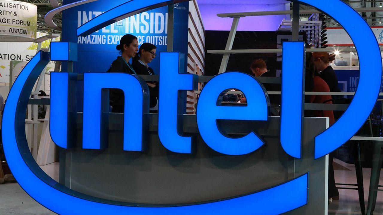 En 2020, le fabricant américain de puces Intel devrait réaliser un chiffre d'affaires de 75milliards de dollars.