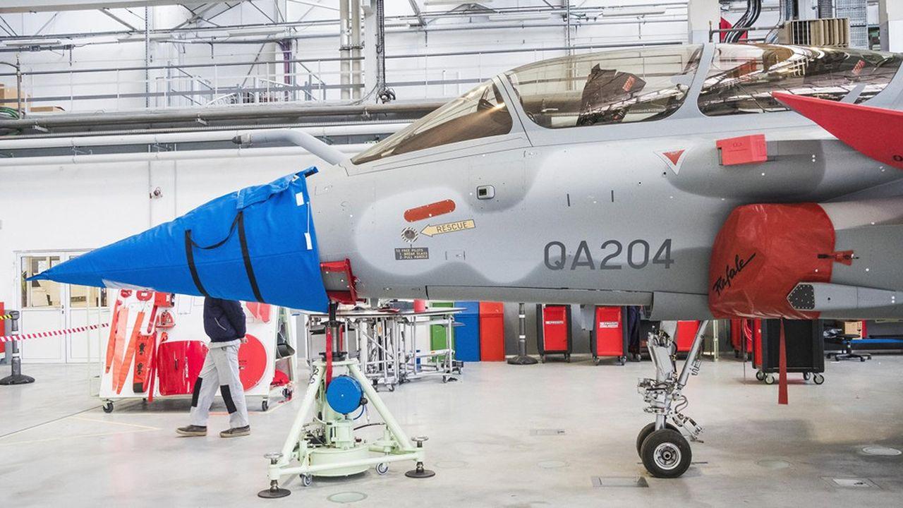 Malgré la crise, Dassault maintient ses investissements de modernisation à Mérignac, où il fabrique les Rafale et les Falcon. Au premier semestre, la recherche pèse ainsi 9,9% du chiffre d'affaires de l'avionneur.