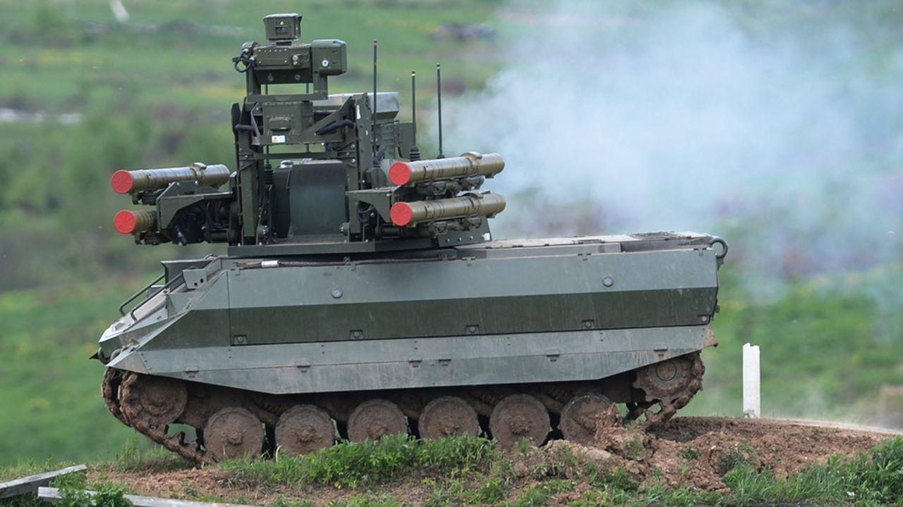 La Russie fait un effort important de robotisation. Elle a notamment testé le déploiement de chars Uran-9, autonomes, sur le théâtre d'opérations syrien.