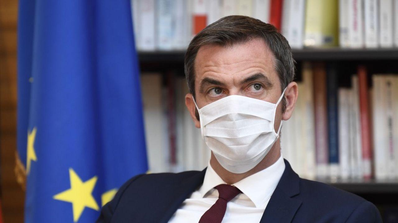 Olivier Véran, le ministre de la Santé, a autorisé le remboursement de tests virologiques sans ordonnance