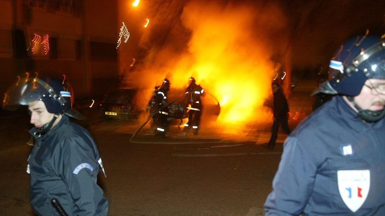 Des voitures avaient notamment été incendiées dans le quartier de l'Elsau.