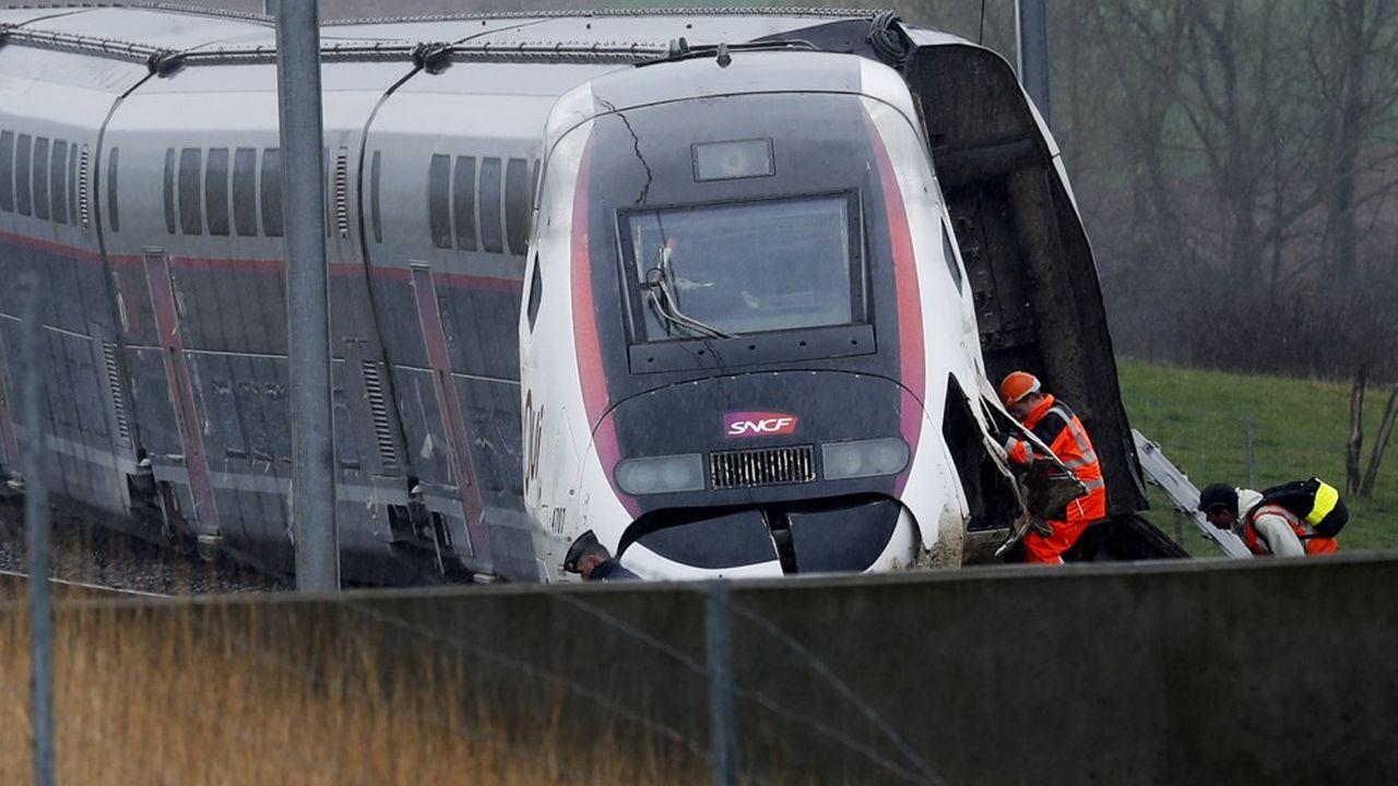 Le 5mars dernier, un TGV parti de Colmar pour relier Paris avait déraillé sans se renverser à hauteur d'Ingenheim.