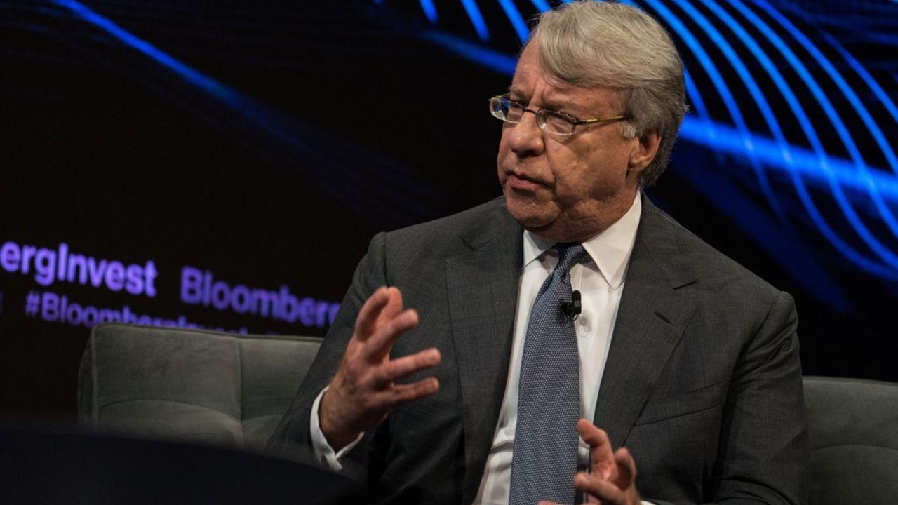 Jim Chanos, fondateur et président du fonds spéculatif Kynikos Associates LP, s'exprime durant le Bloomberg Invest Summit à New York.