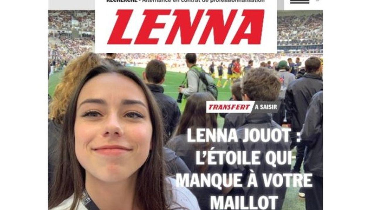 Lenna Jouot, étudiante en communication digitale et passionnée de rugby, a affolé LinkedIn (et les médias !) avec son CV à la charte du journal L'Equipe.