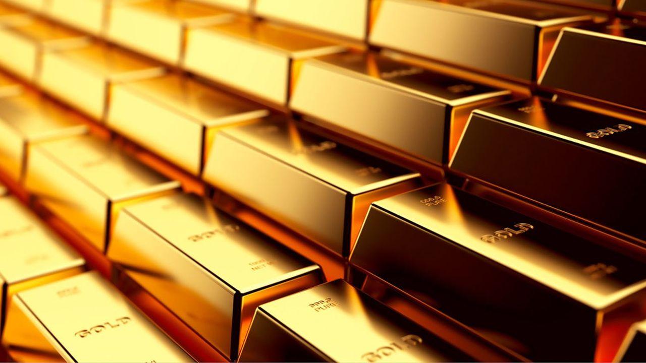 Une once d'or s'échangeait lundi matin au prix de 1.930dollars.