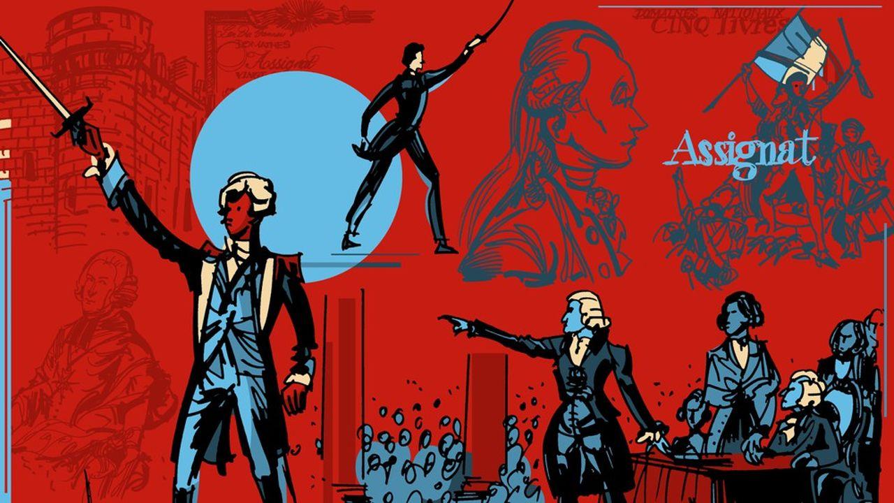 L'annulation des dettes, échec majeur de la Révolution française.