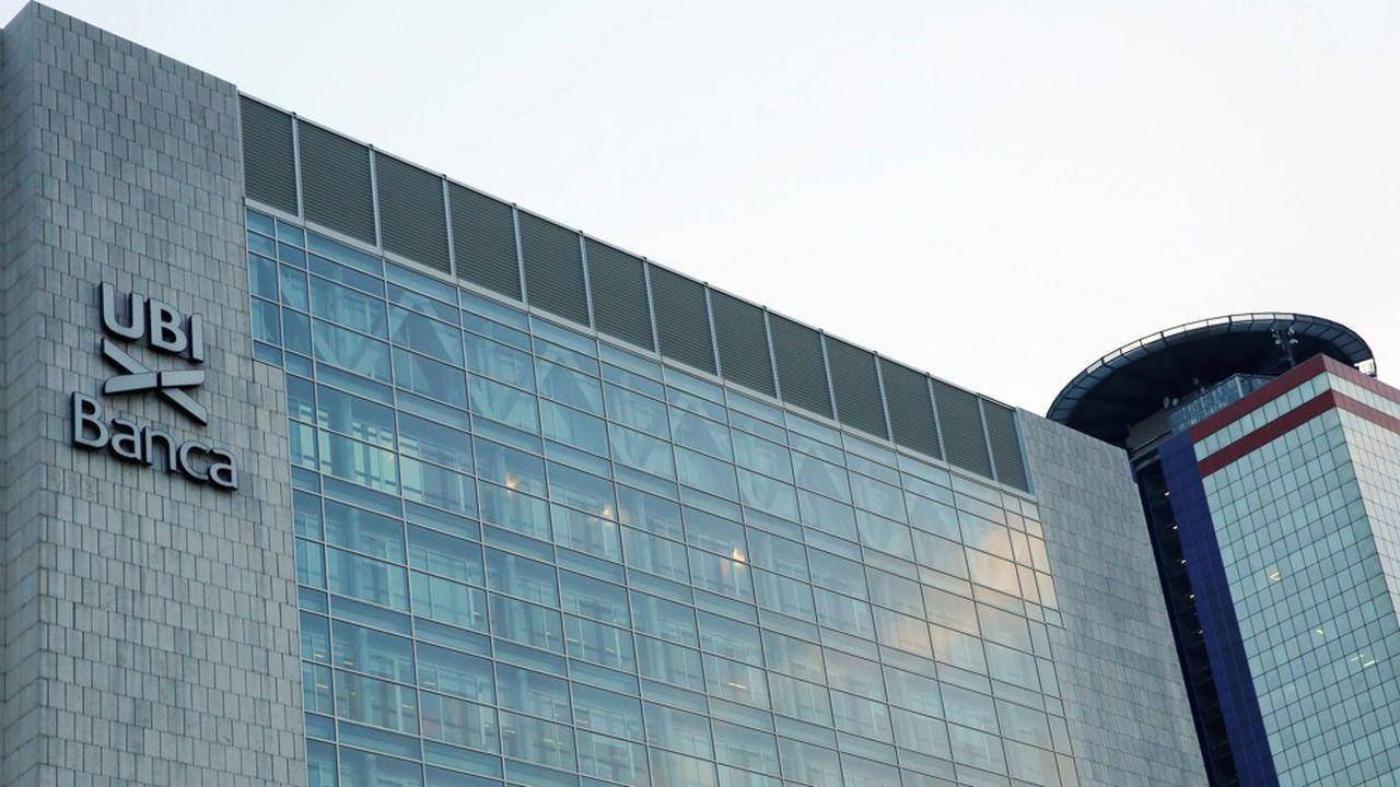 Intesa SanPaolo cherche depuis le mois de février à reprendre UBI Banca, basée à Bergame.