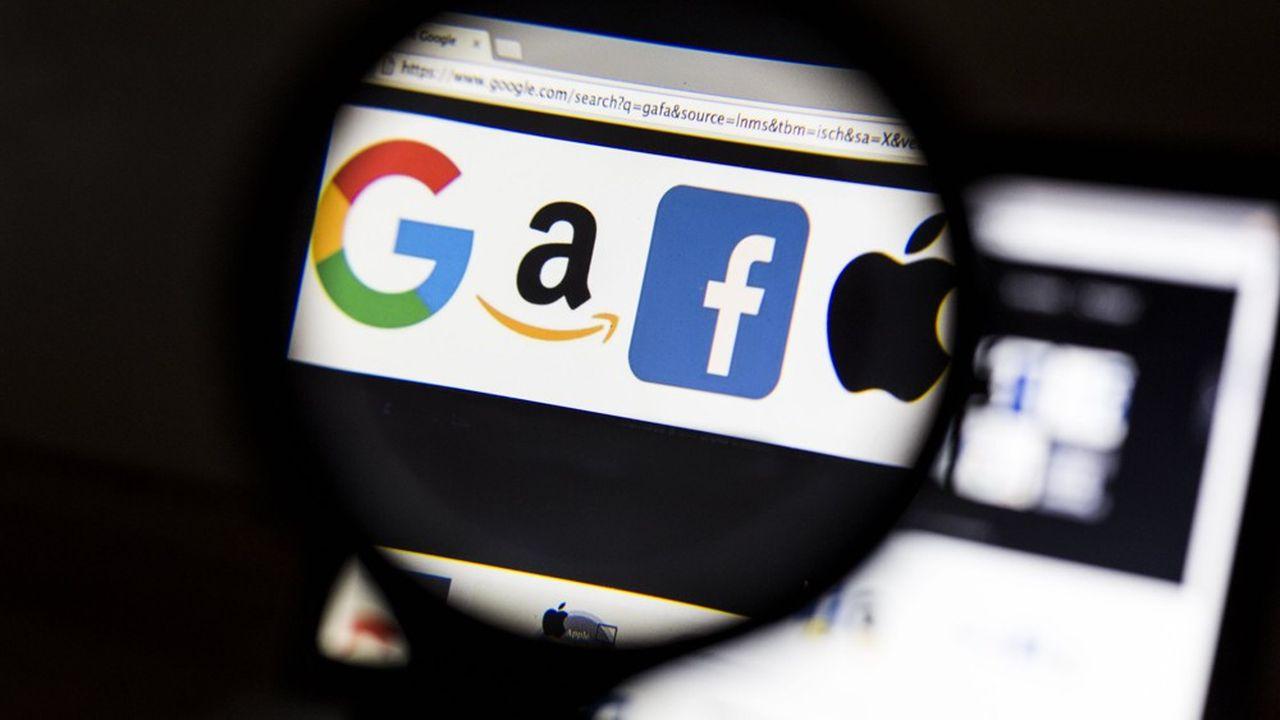 Les quatre géants du numérique sur le gril du Congrès américain — GAFA