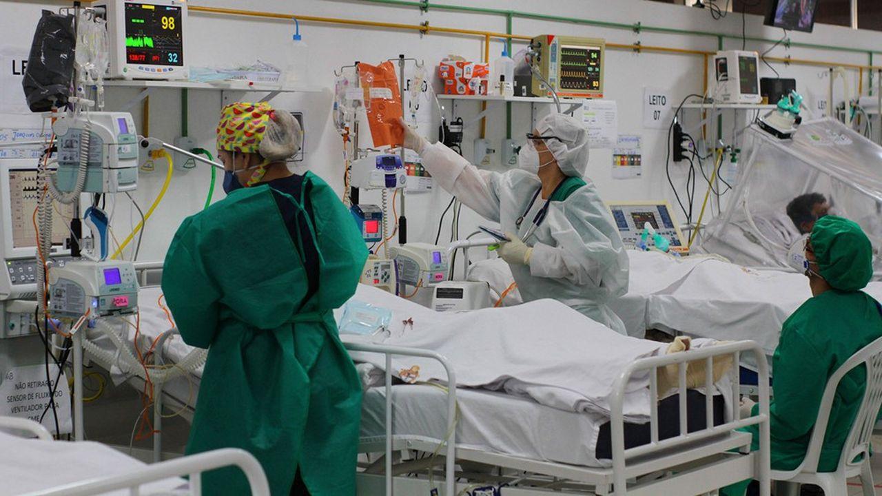Plusieurs hôpitaux ont été débordés pendant la pandémie. Certains manquent de produits anesthésiques et d'analgésiques.