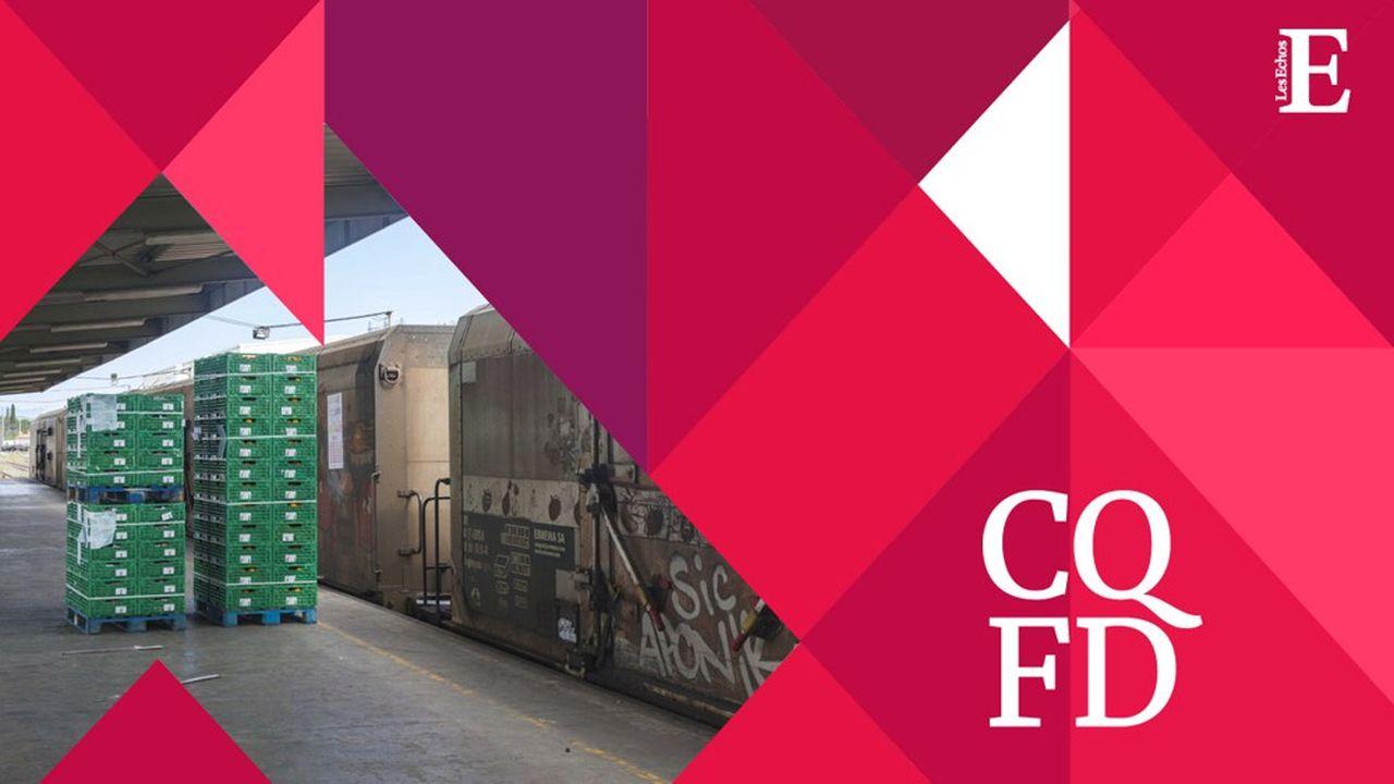 Aujourd'hui, le transport par rail concerne 9,9% des marchandises. En comparaison, 89% des marchandises sont transportées par la route.