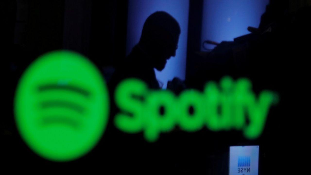 Spotify a une capitalisation boursière de près de 50milliards de dollars à Wall Street