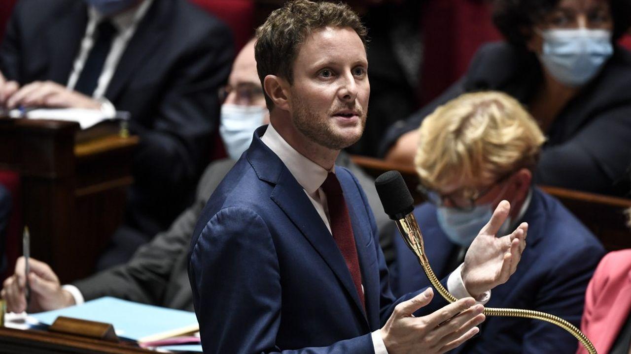 Le nouveau secrétaire d'Etat aux Affaires européennes, Clément Beaune, a participé mardi à sa première séance de questions au gouvernement à l'Assemblée nationale, à Paris.