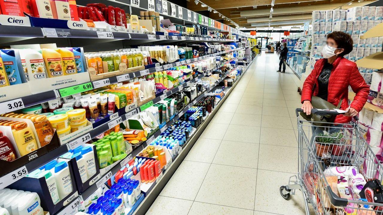 La consommation a rebondi depuis le déconfinement, mais le retard n'est pas rattrapé.