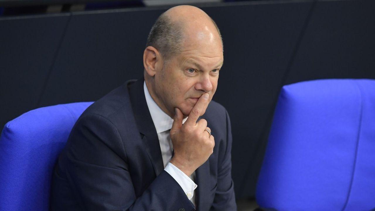 Le vice-chancelier et ministre des finances Olaf Scholz.