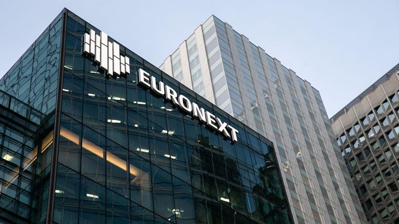Le siège d'Euronext, à Courbevoie.