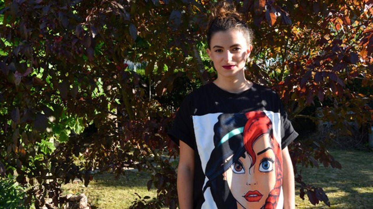 Maëlle, 22 ans, habite dans le Sud de l'Essonne en Île-de-France.