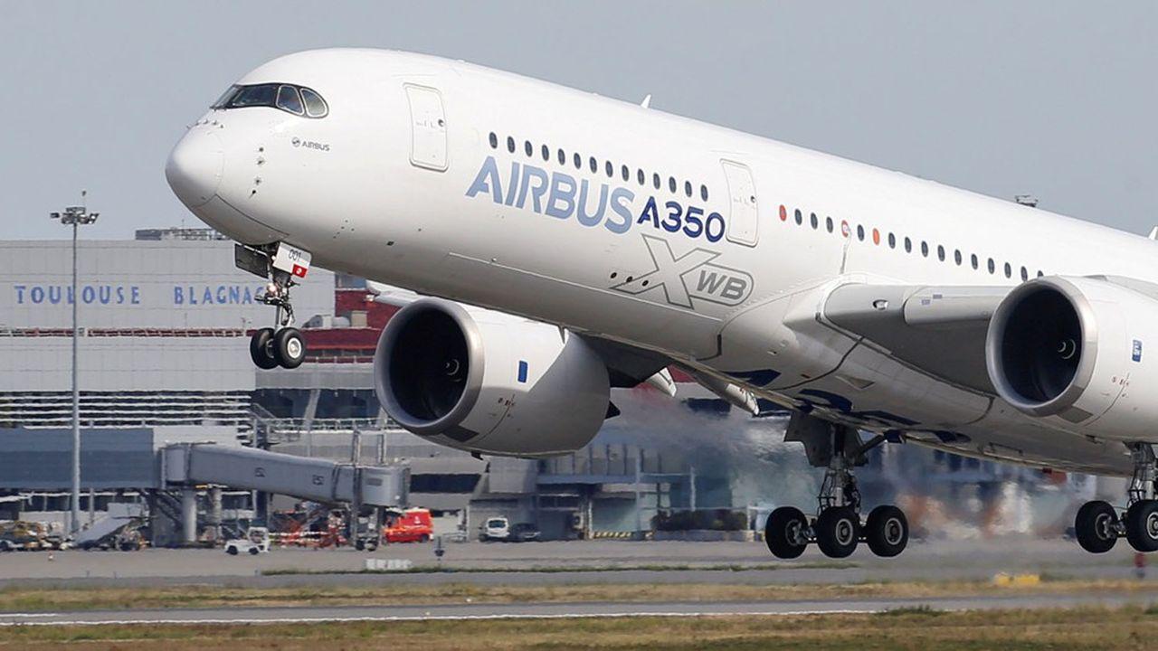 Airbus ralentit encore sa production du long courrier A350, mais confirme le maintien de ses recherches sur la nouvelle version A350X.