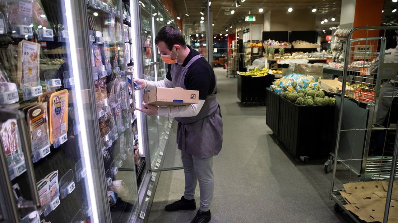 Le chiffre d'affaires des supermarchés Franprix a progressé de 14,7% au deuxième trimestre.