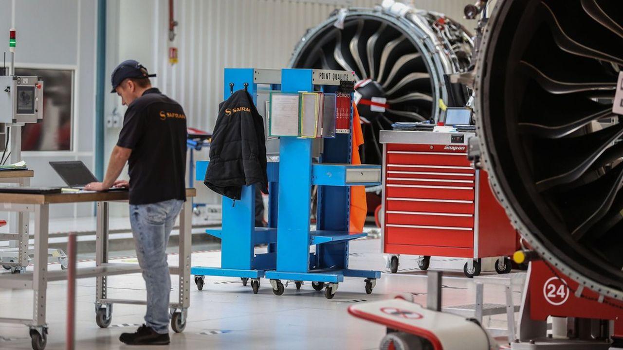 Au premier semestre 2020, Safran a livré 800 moteurs, soit 50% de moins qu'au premier semestre 2019.