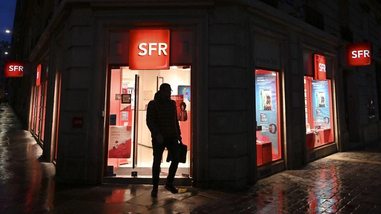 Au deuxième trimestre, SFR a recruté 100.000 nouveaux clients sur la fibre.