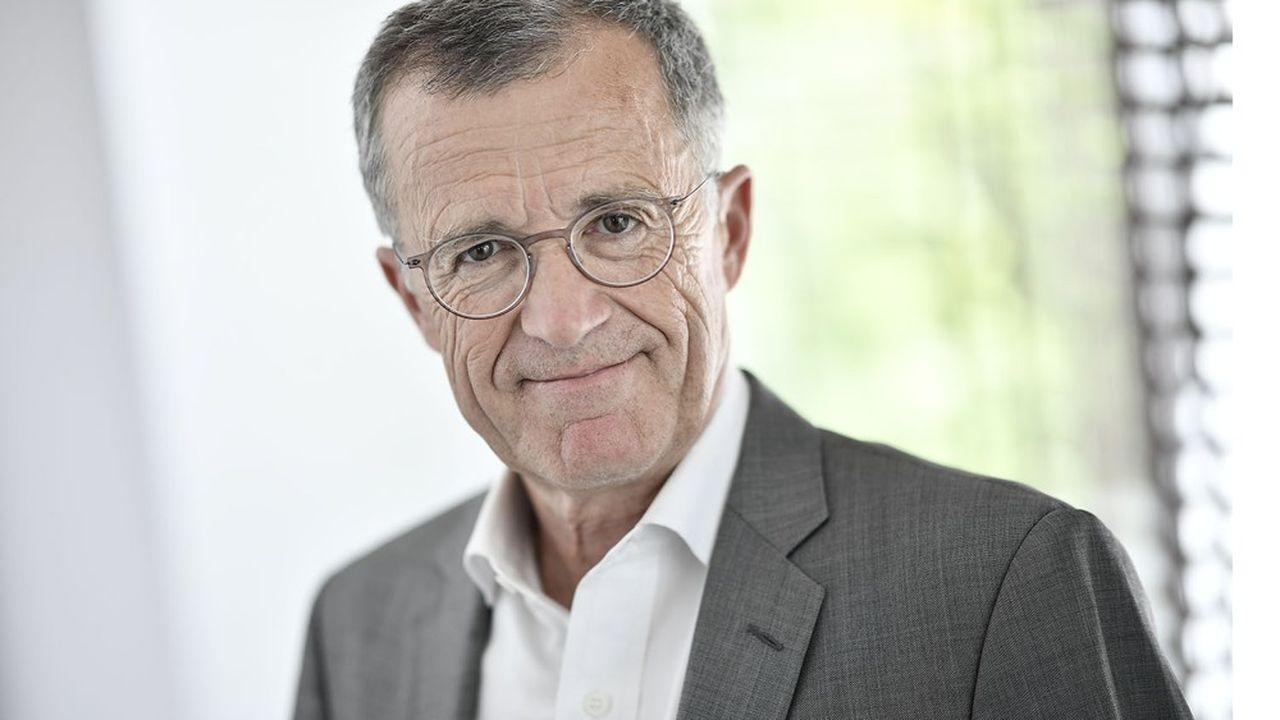 Philippe Darmayan, président de l'Union des industries et métiers de la métallurgie et président d'Arcelormittal.