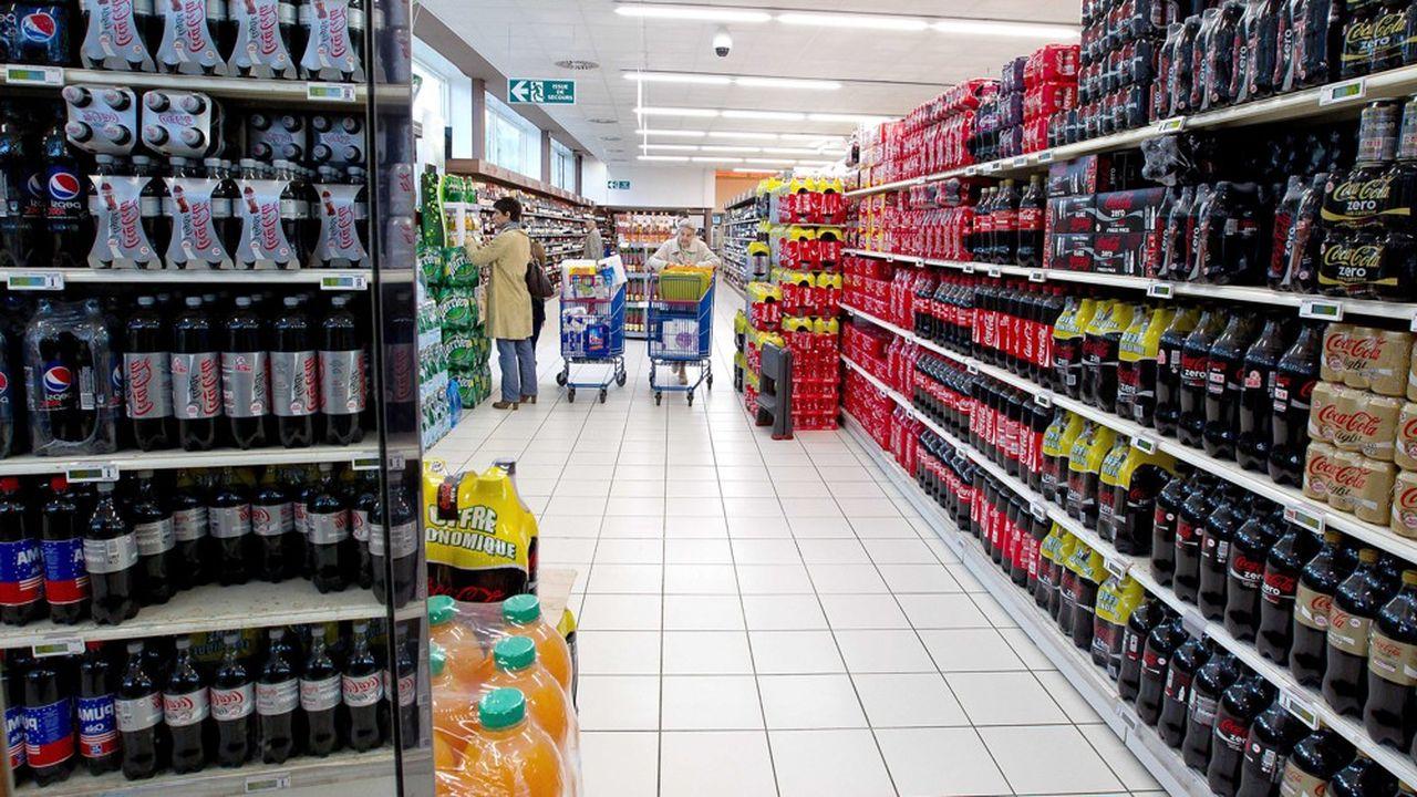 Après un premier trimestre dopé par la ruée dans les supermarchés, les géants de la grande consommation affichent un second trimestre en baisse.