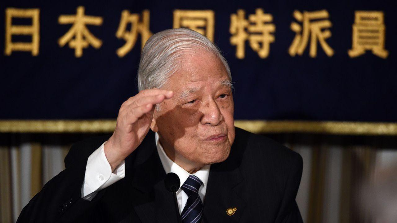 Lee Teng-hui (ici à 2015) a notamment instauré la présidentielle au suffrage direct à Taïwan.