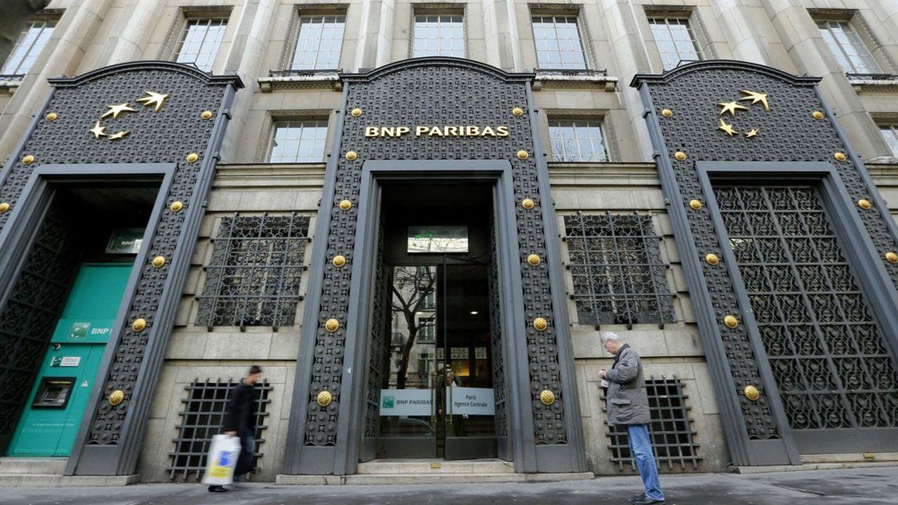 BNP Paribas a vu son coût du risque progresser de 826millions d'euros sur un an.
