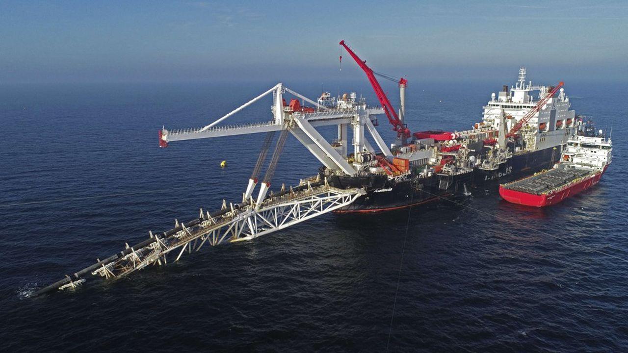 «Nord Stream 2, ce gazoduc sous-marin reliant la Russie à l'Allemagne, était censé voir le jour fin2019.»