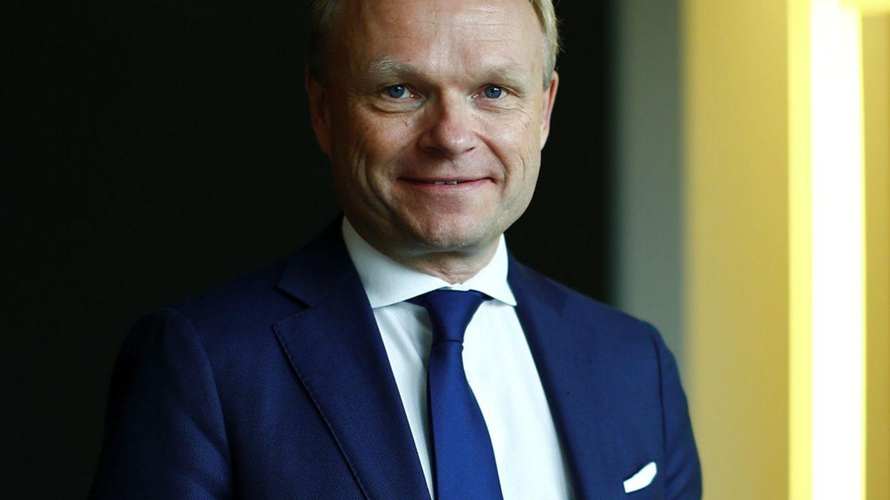 Pekka Lundmark, 57 ans, le nouveau PDG de Nokia.