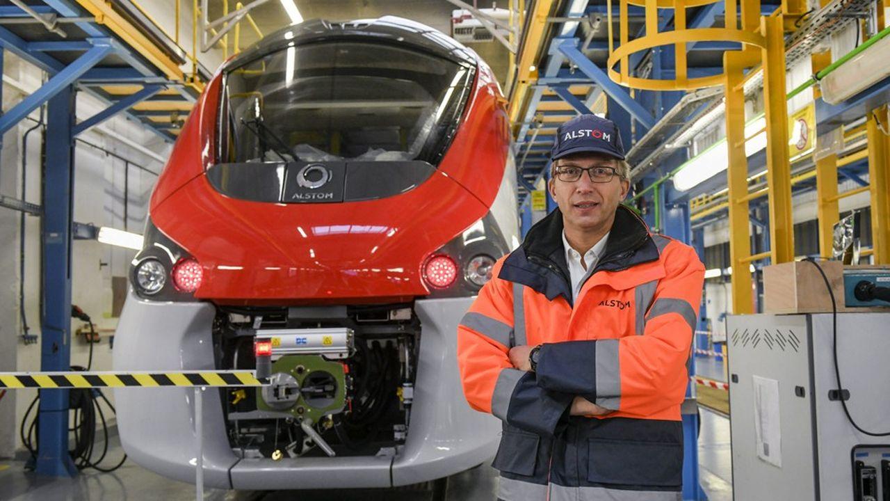 Henri Poupart Lafarge, PDG d'Alstom. Avec Bombardier Transport, il pourra oublier l'échec de son premier projet de fusion avec la branche transport de Siemens.