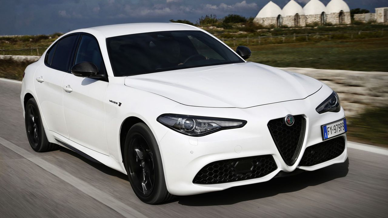 Les autos de la liberté retrouvée - Alfa Romeo Giulia Veloce
