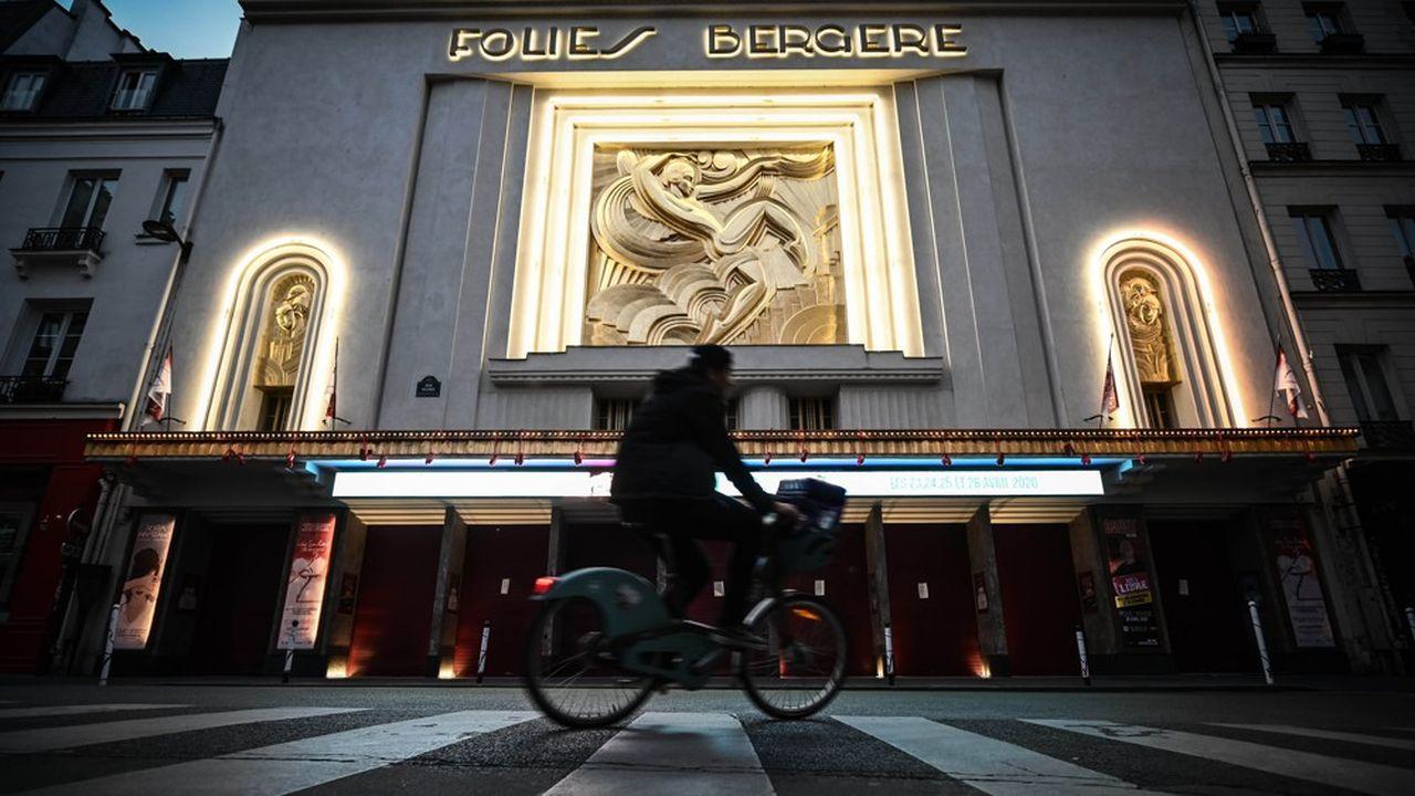 Les Folies Bergère, l'une des deux pépites du pôle entertainment de Lagardère avec le Casino de Paris.