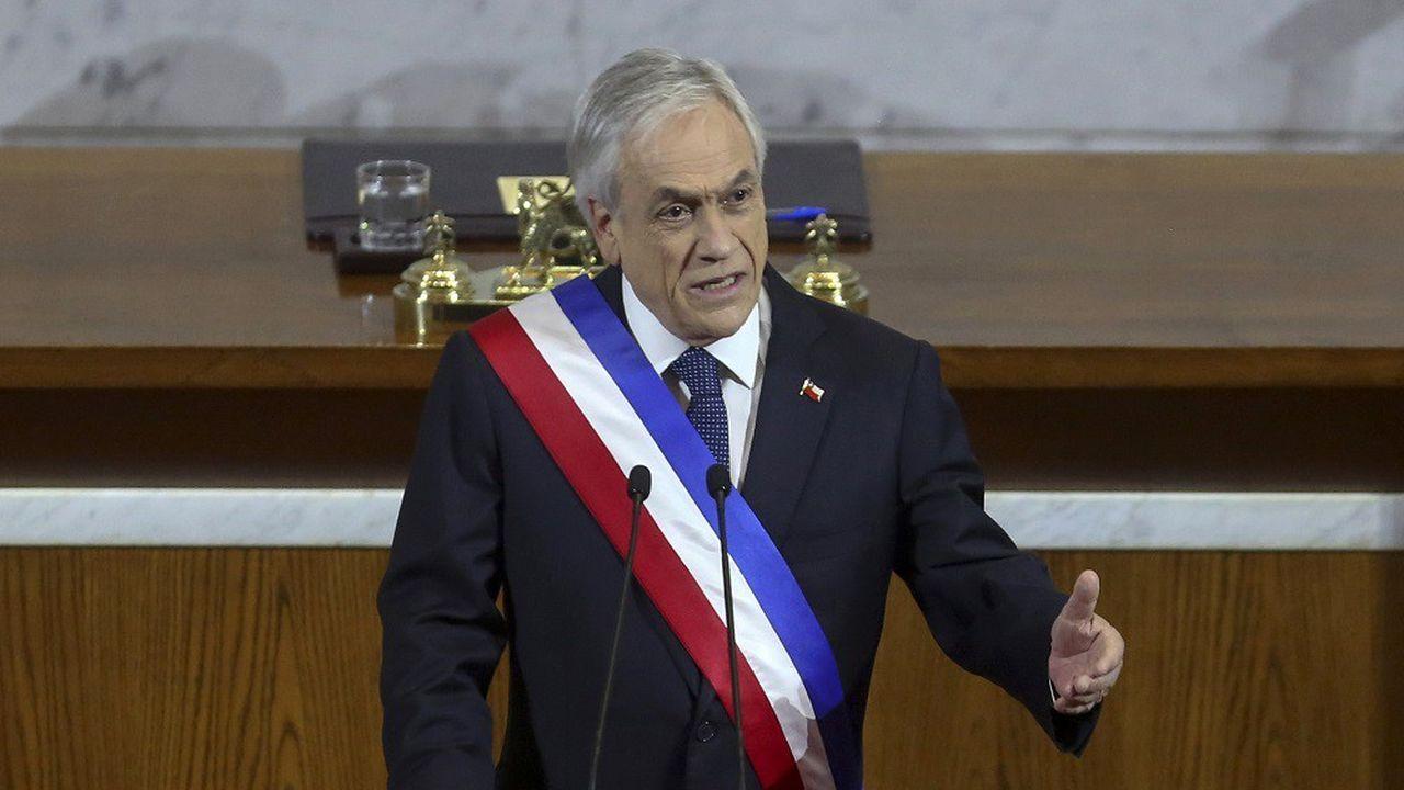 Le président chilien, Sebastián Piñera, doit faire face aux conséquences de la pandémie de Covid-19, qui a fait flamber le chômage à un niveau sans précédent depuis une décennie.