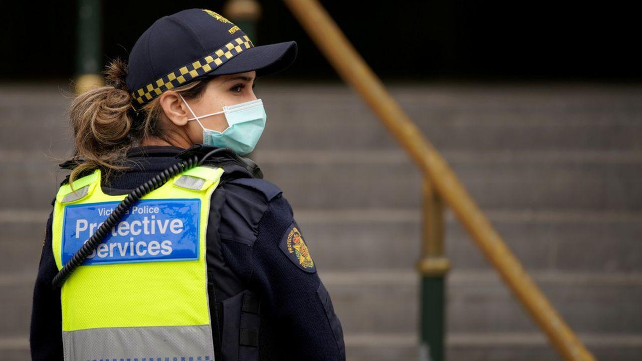 L'Etat de Victoria, où se situe Melbourne, a recensé dimanche 671 nouveaux cas de Covid-19 et sept morts.