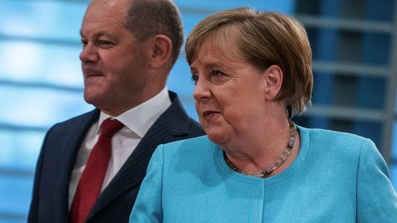 Le 3juin dernier, la coalition menée par Angela Merkel parvenait à un accord pour un plan de relance à 130milliards d'euros