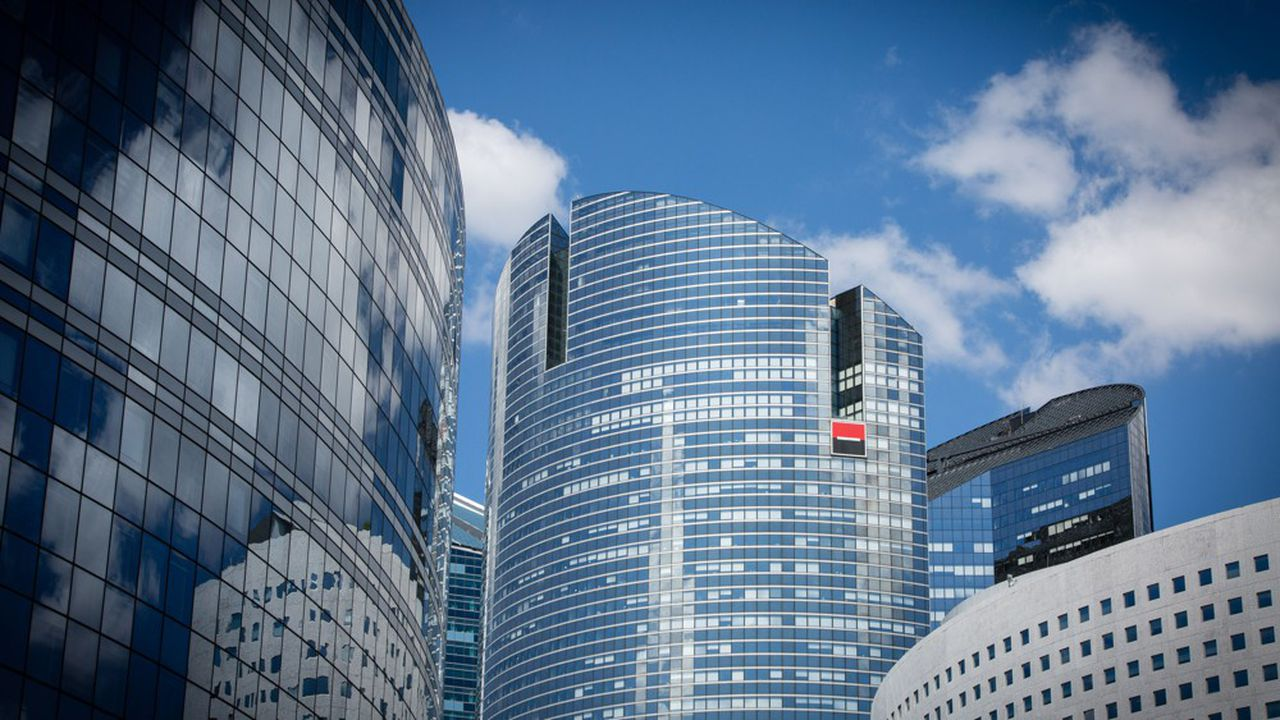 La banque de La Défense a accentué ses pertes au deuxième trimestre.