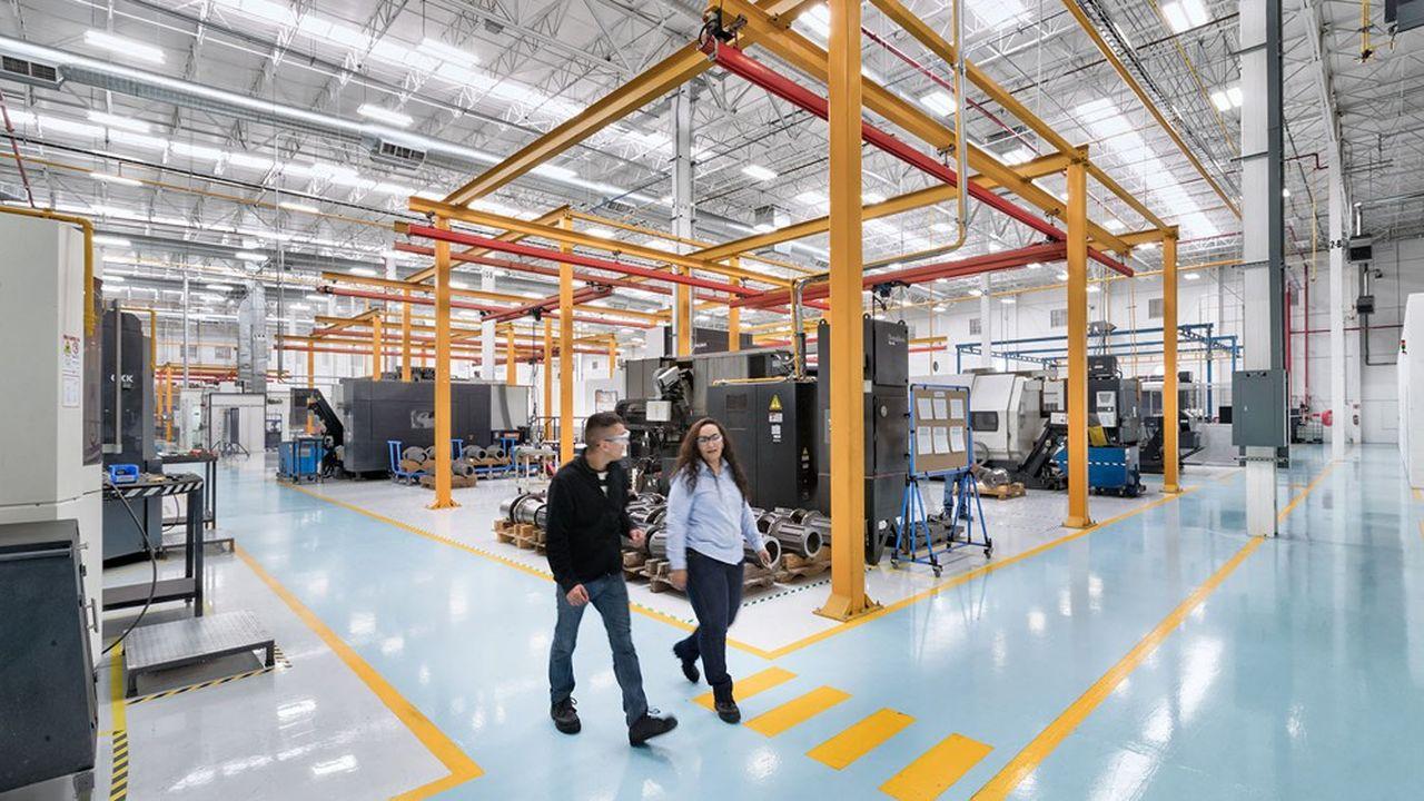 L'usine de Lisi Aerospace au Mexique, à Chihuahua. L'entreprise a signé, début juin, un contratde 60millions de dollars sur six ans avec Lockheed Martin.