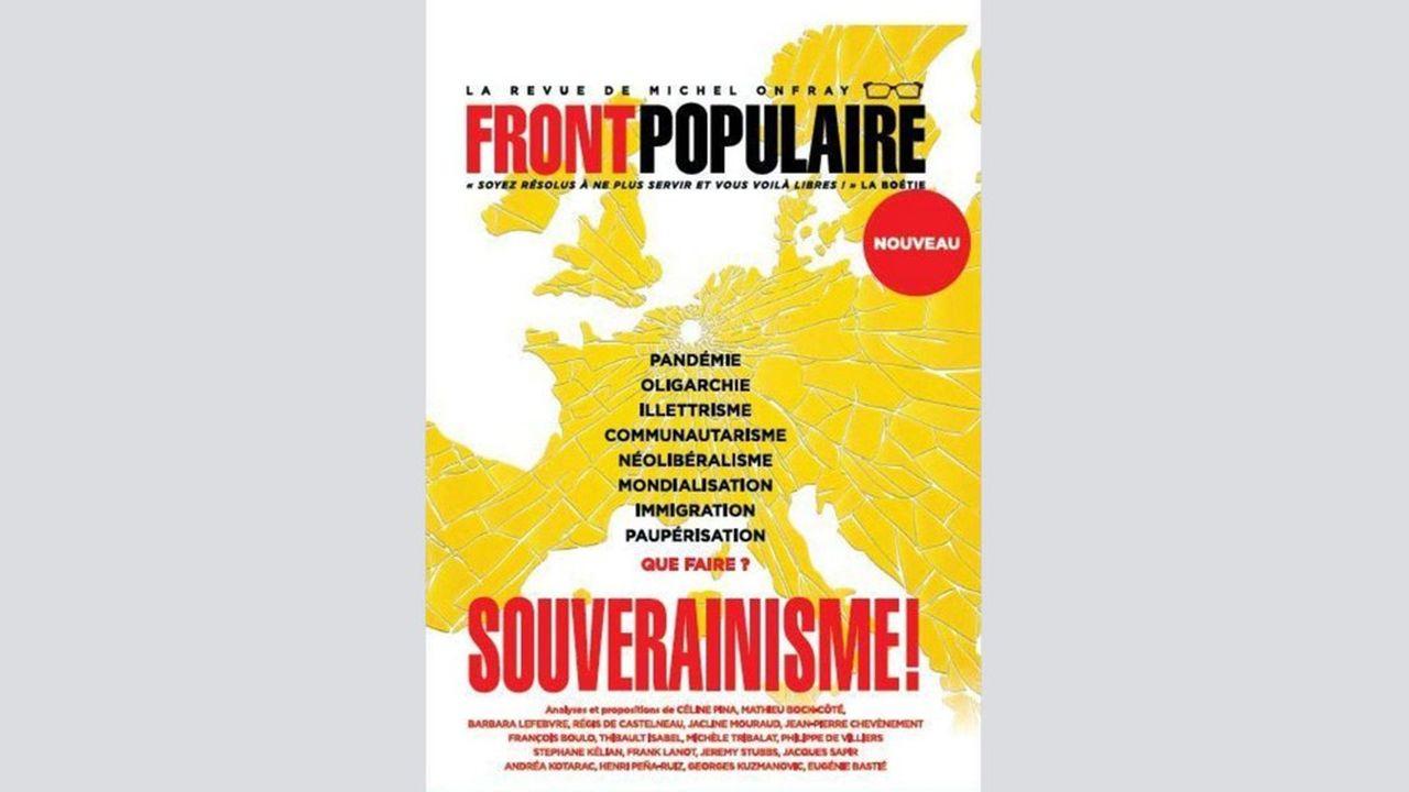 Le premier numéro de «Front Populaire» a décliné le thème du souverainisme sous divers angles, dont la pandémie, la mondialisation et l'immigration.