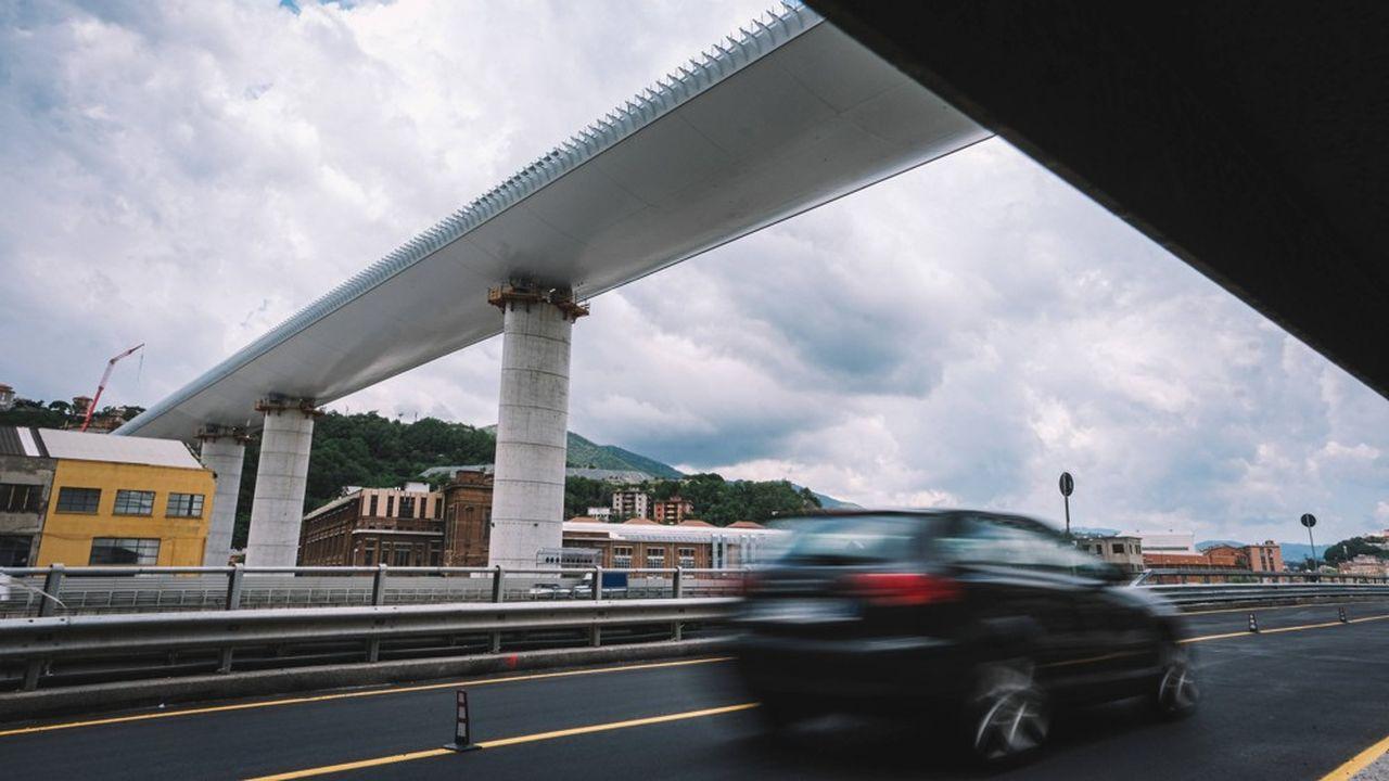 Le nouveau viaduc de Gênes, le pont San-Giorgio, a été dessiné par l'architecte star Renzo Piano.