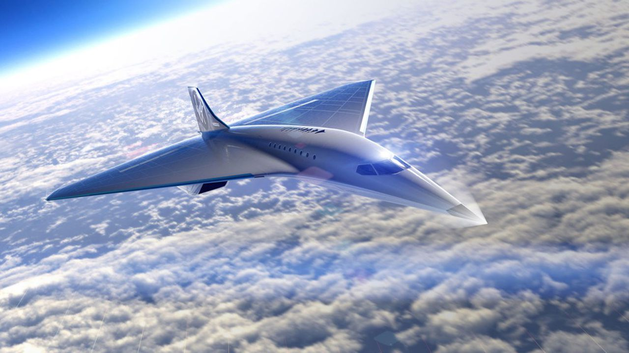 L'appareil, qui rappelle le Concorde, volera à la même altitude que l'avion franco-britannique.