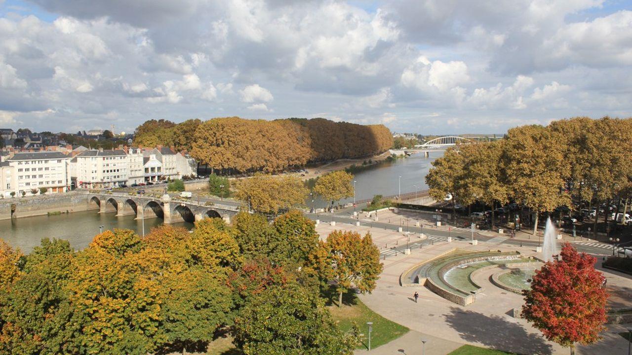 Le site patrimonial remarquable d'Angers prend en compte la dimension végétale de l'agglomération.