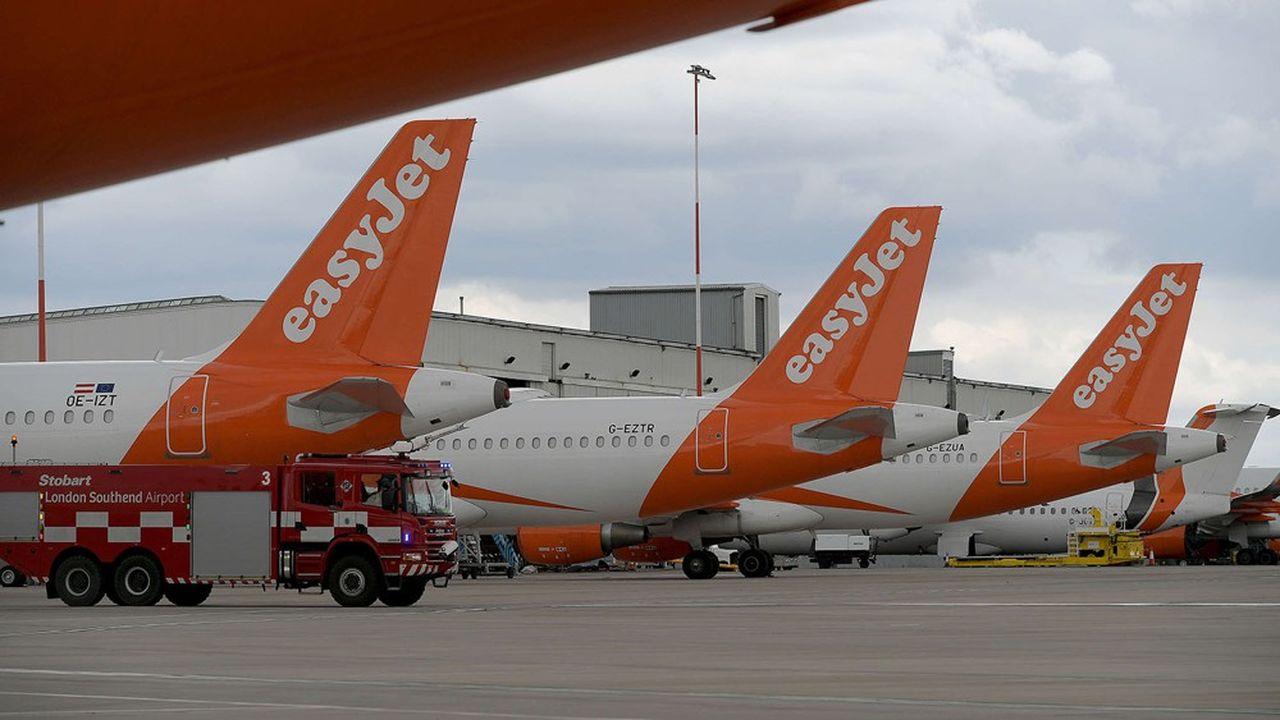 Après plus de deux mois au sol, les Airbus à la livrée orange d'easyJet ont repris les airs fin juin.