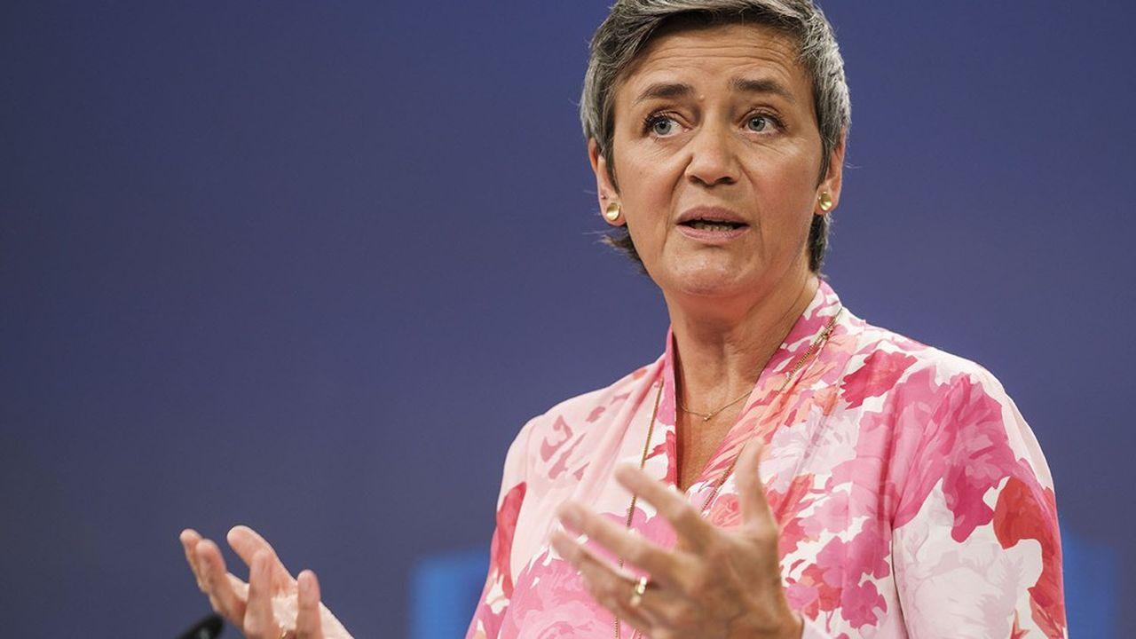 Margrethe Vestager estvice-présidente exécutive de la Commission européenne.