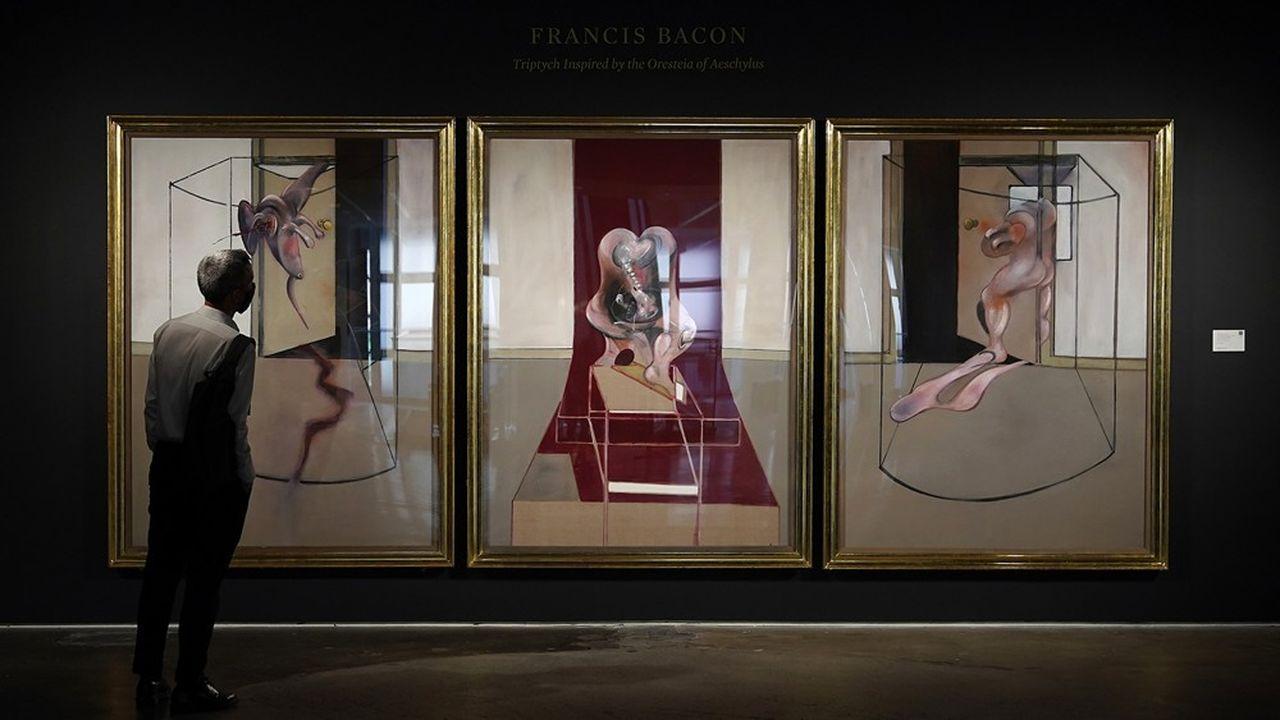 Une oeuvre de Francis Bacon adjugée à 73,1millions de dollars à un client chinois.