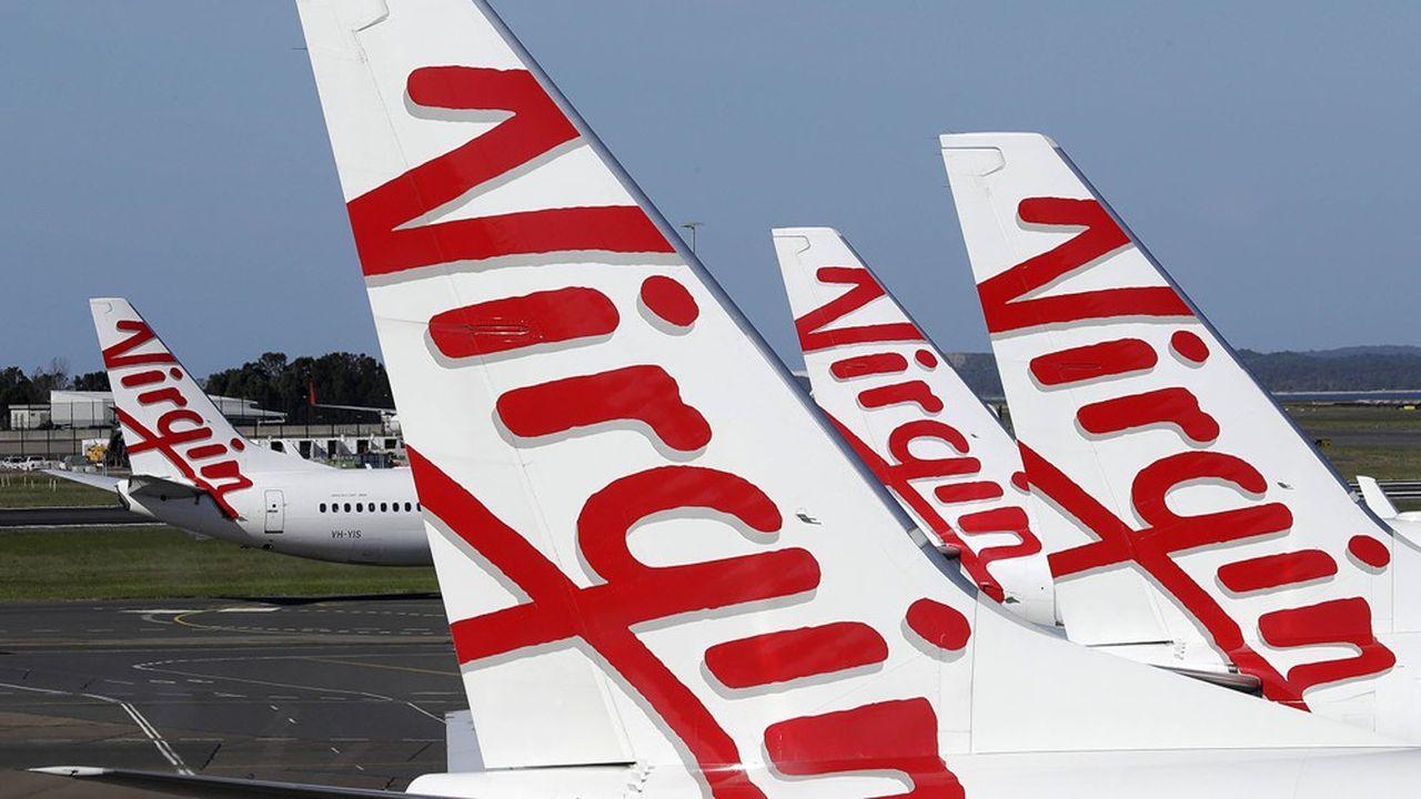 Virgin Australia subit de plein fouet les effets de la crise sanitaire.