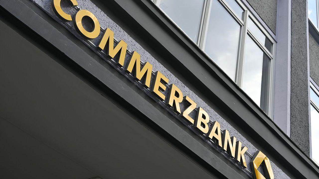 La Commerzbank a annoncé avoir provisionné un total 469millions d'euros au deuxième trimestre.